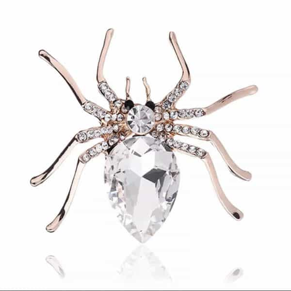 Crystal-Spider-Pin-Brooch-Marlow-Buckinghamshire-United-Kingdom-Toria-Lee-Accessories