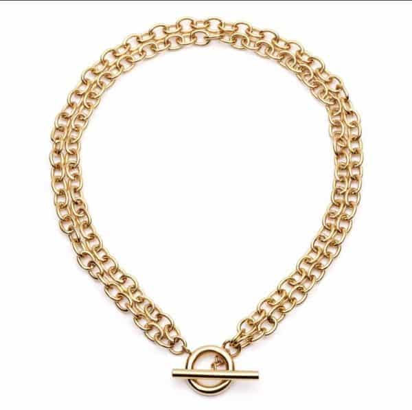 Double-Chain-Choker-Necklace-Gold-Marlow-Buckinghamshire-United-Kingdom-Toria-Lee-Accessories
