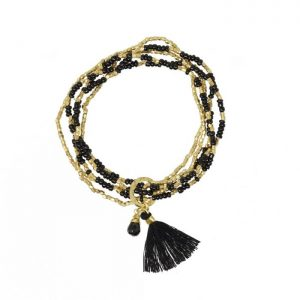 Galapagos-Tassel-Bracelet-with-Black-Onyx-Gemstone-Marlow-Buckinghamshire-United-Kingdom-Toria-Lee-Accessories