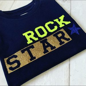 Kids-Navy-T-Shirt-with-Rock-Star-Design-Marlow-Buckinghamshire-United-Kingdom-Toria-Lee-Accessories