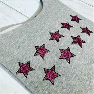 Libby-Sweatshirt-in-Grey-with-Hand-Pressed-Pink-Stars-Marlow-Buckinghamshire-United-Kingdom-Toria-Lee-Accessories
