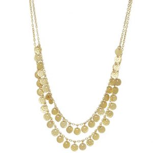boho-coin-short-layering-necklace-silver-gold-Marlow-Buckinghamshire-United-Kingdom-Toria-Lee-Accessories