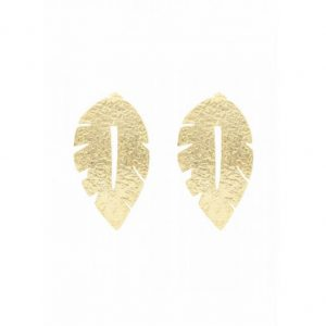 Gold-Laurel-Leaf-Earrings-