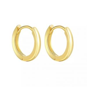 RaRachel-Plain-Small-Hoop-Earrings-in-Gold-or-Silver-Marlow-Buckinghamshire-United-Kingdom-Toria-Lee-Accessories