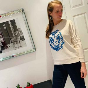 Leo-Sweater-with-Metallic-Blue-Glitter-Cheetah-Motif-Marlow-Buckinghamshire-United-Kingdom-Toria-Lee-Accessories