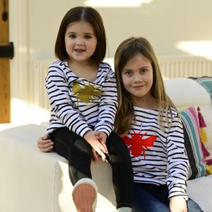 Kids-Breton-Long-Sleeve-Top-with-Orange-Bee-Marlow-Buckinghamshire-United-Kingdom-Toria-Lee-Accessories