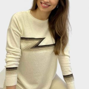 Ziggy-Cashmere-Knit-Stripe-Sweater-Ivory-Multi-Marlow-Bucinghamshire-United-Kingdom-Toria-Lee-Accessories
